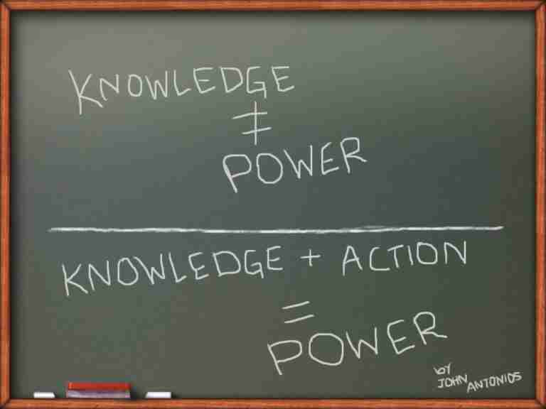 Short Essay On Power Of Knowledge