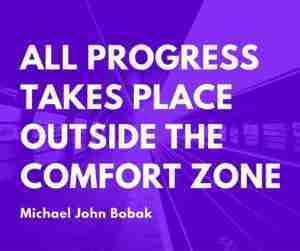 Progress-comfortzone