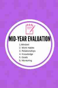 mid-year evaluation