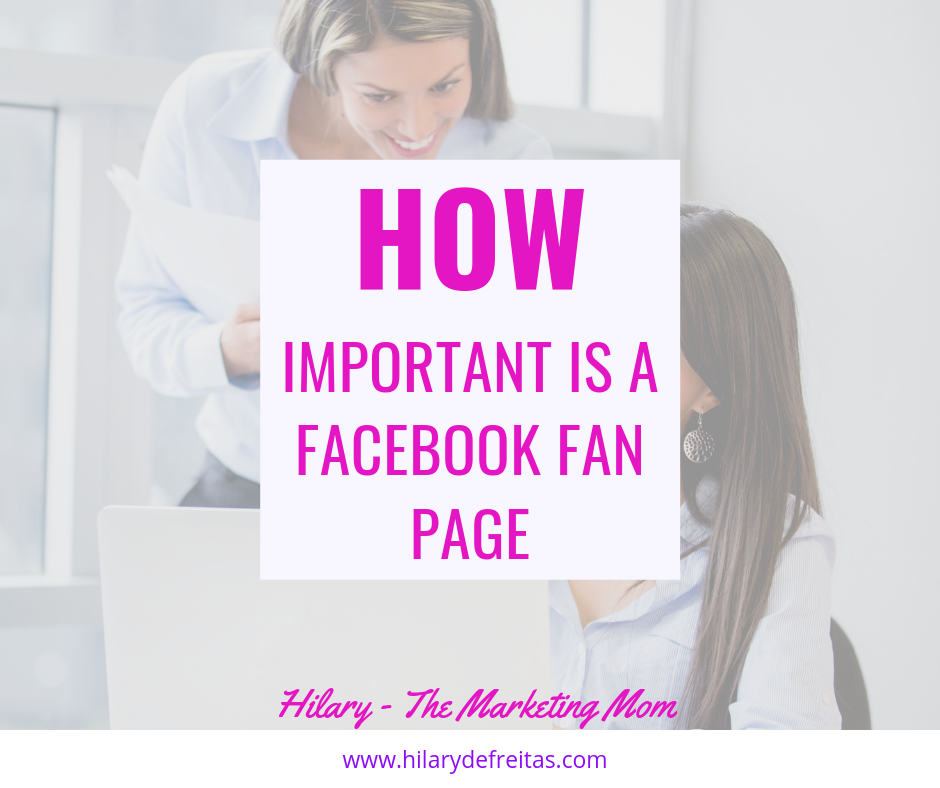 The Relevance of a Facebook Fan Page