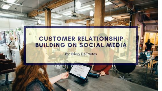 Business Relationship Building on Social Media